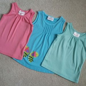 Hanna Andersson 3 tank tops size 80 18-24